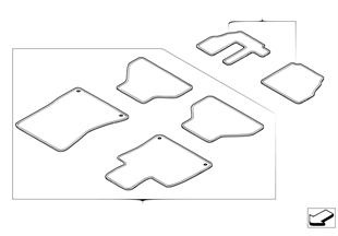 Floor mats Cross Country