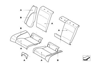 Kiş.uznl.yerleştirme s., spor koltuk, arka