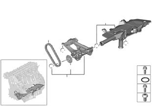 供油 / 機油泵 帶驅動裝置