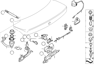 後行李箱蓋 / 聯鎖系統