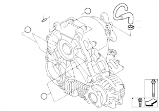 Gearbox mounting parts