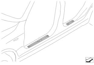 Retrofit, M cover, entrance