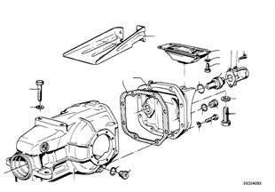 변속기 하우징-커버/펄스 제너레이터