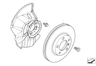 前輪制動器-制動盤