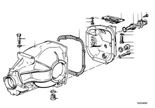 Крышка картера КПП/импульсный датчик