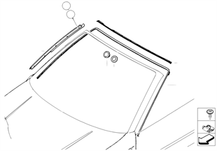 Window mounting parts
