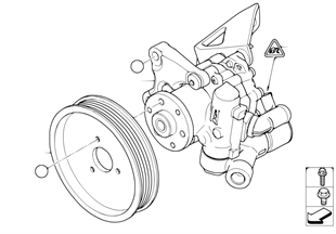 Čerpadlo posilovače řízení/aktivní říz.