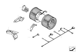 Ηλεκτρικά εξαρτήμ. συσκευής κλιματισμού