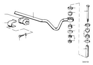 Stabilisator hinten