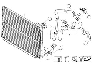 Engine oil cooler/oil cooler line