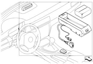 Kit di montaggio disp.viva voc.Bluetooth