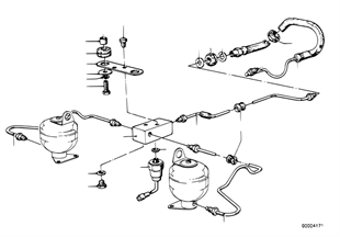 차고제어시스템/라인/설치부품