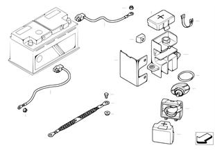 Kabel akumulatora (akumulator z tyłu)