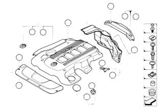 Звукоизоляционный кожух двигателя
