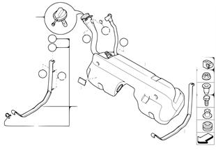Kraftstoffbehälter/Anbauteile