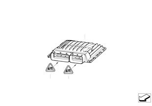 Sterownik główny DME / MSD812