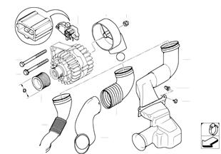 발전기,개별 부품,120A Bosch