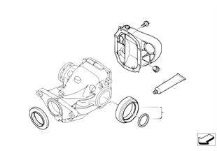 Kit de juntas do diferencial traseiro