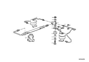 Niveauregulierung/Leitungen hinten