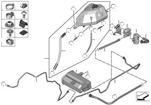 副水箱/活性碳過濾器