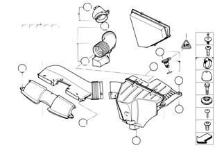 進氣消音器 / 濾芯 / 熱膜式空氣質量計