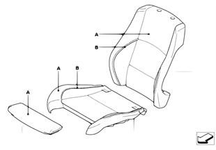 Individual επένδυση σπορ κάθισμα μπροστά