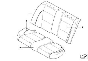個性化 座套 跑車座椅 後部