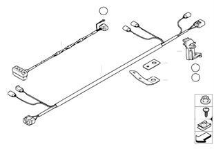 主動轉向控制導線組