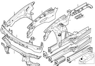 Tekerlek davlumbazı/Motor taşıyıcısı