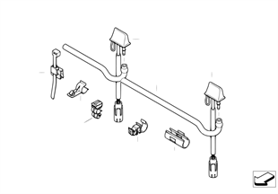 Piezas suelt.p instal. de lavaparabrisas