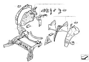 Achterwielkast/bodemonderdelen