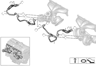 Koelsysteem turbolader