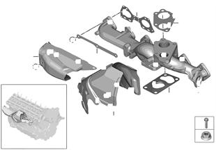 Egzoz manifoldu-AGR