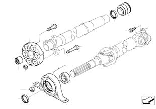 Cardanas onderdelen vierwiel