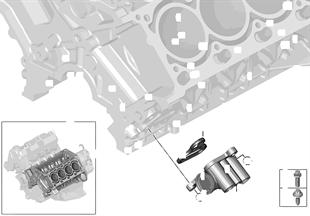 Ölversorgung-Ölkühleranschluss