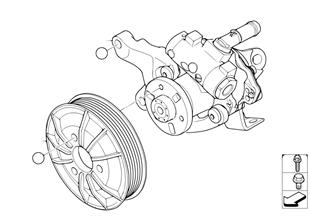 Pompa wspomagania układu kierowniczego