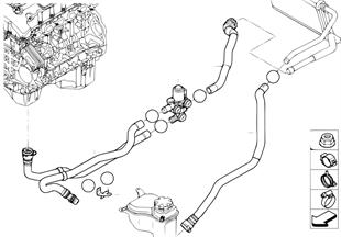 冷卻液軟管 停車預熱裝置
