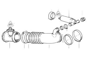 Αισθητήρας μέτρησης μάζας εισερχόμ. αέρα