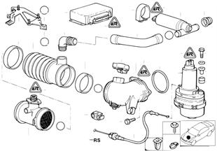 Contador masas de aire/ASC