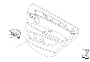 Dodatečná montáž popelník dveře zadní