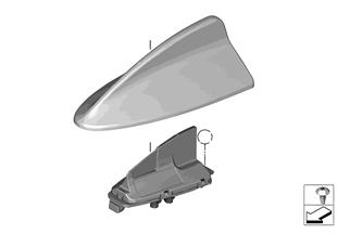 Single parts antenna