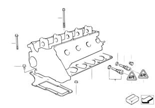 Silindir kapağı-Montaj parçaları