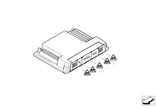 Boîtier électron. de base DME / EK928_7