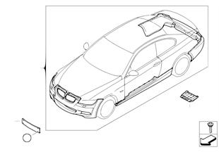 Zest. dopos. — pakiet aerodynamiczny M