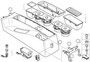 Console centrale