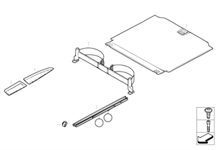 Dodatečná montáž systém uvazovacích lišt