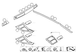 Na-inbouw interieurlijsten Titan Line