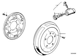 Tromrem-remtrommel/wielrem-cilinder