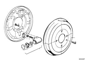 드럼브레이크-브.드럼/휠브레이크실린더