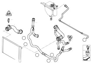 冷卻系統水導嚮軟管